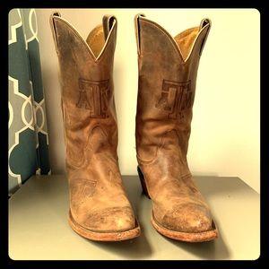 EUC Nocona Women's Texas A&M Boots for Gameday! 🏈